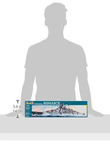 Imagen 7 de Revell 05098 Bismarck - Acorazado a escala [Importado de Alemania]