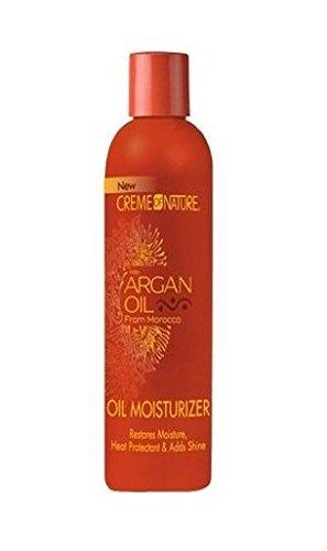 Creme of Nature Soins hydratants à l'huile d'argan - Rétablit une hydratation idéale et protège de la chaleur - 250 ml