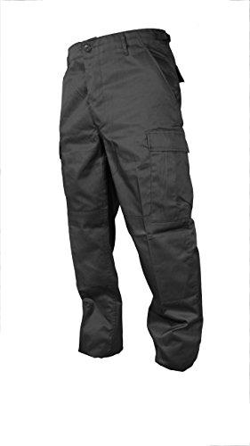 Mil-Tec - Pantalon - Homme noir Noir Medium / 33-35W