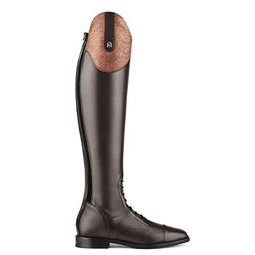 Cavallo Reitstiefel Linus Jump Edition Bling | Farbe: Mocca-Mocca | Größe: 4-4½ | Schaftform: 50/34
