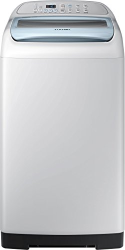 Samsung 6.2 kg Fully-Automatic Top Loading Washing Machine (WA62K4200HB, Sparkling Caribbean Blue and light grey)