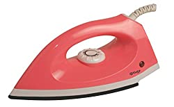 Hi Choice 1000 Watt Dry Iron (White and Red Color,Set of 2)