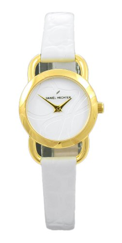 Daniel Hechter Women's Quartz Watch Analogue Display and Leather Strap DH06320BL