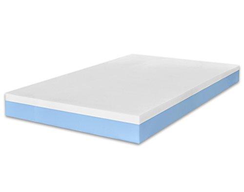 MARCAPIUMA - Matratze Memory 120x200 Höhe 20 cm - SUNRISE - 2 Schichten Wellness Bettcomfort Orthopädische Komfortschaummatratze Relax Einzelbett - Härtegrad H2 Medium - Hochwertige Viscoelastische Bettcomfort Kaltschaummatratze - 5 Zonen Abziehbar Bezug mit Reißverschluss waschbar bei 60° antiallergen gegen Milbe und schwitzend - 100{cf9920c2106721de2ec23d06872927beb4af2f7204c17de4791672aa0af96fac} Made in Italy