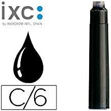 Inoxcrom 00965206 - Cartucho de tinta, 12 unidades, color negro