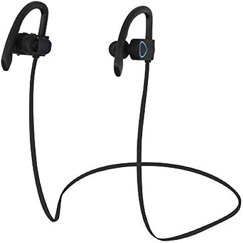 Wireless Bluetooth auricolari leggeri sweatproof Sport auricolari con microfono a