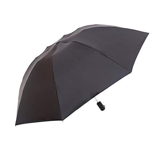 LYJZH Mini Schirm: Mini-Regenschirm mit Transporthülle, extraleicht & superkompakt Regenschirm automatische Sonnenschirm Vinyl-Kunststoff colour2 92cm