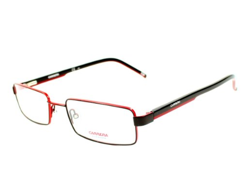 Preisvergleich Produktbild New Authentic CARRERA RX Eyeglasses CA7571 WZR Black Red White Men 52mm