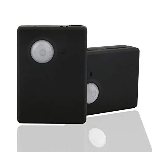 Mms Quad (Elviray Miniausrüstung und Leichter, langlebiger Infrarot-GSM-MMS- und Anrufalarm-Quad-Band-Sensor mit Kamera-Mic-Tracker)
