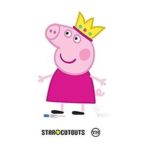 Star Cutouts SC959 - Corona de cartón para fiesta (90 cm), diseño de Peppa Pig, multicolor