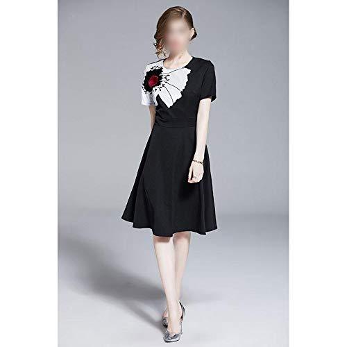 Vestido Mujer Fragancia pequeña Falda Columpio Alto