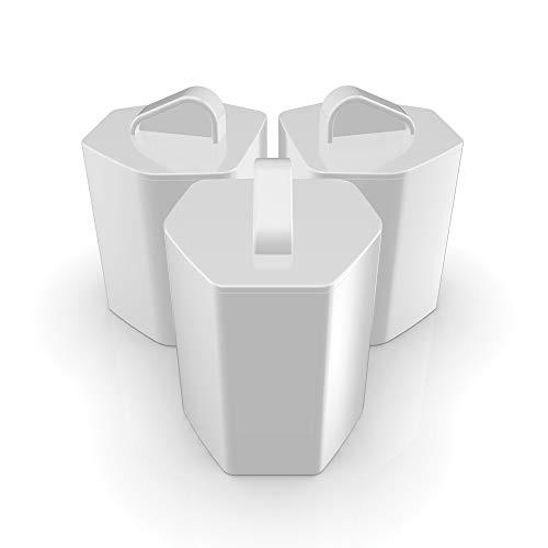 Imetec Zerocalc KF1 100 Kit 3 Filtri Anticalcare per Ferri da Stiro Imetec Zerocalc Pro Ceramic Ps2 2400, Ps2 2000, Ps2 2200