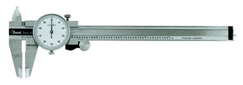 CENTRAL TOOLS 6427 0-6 STAINLESS STEEL DIAL CALIPER BY CENTRAL TOOLS