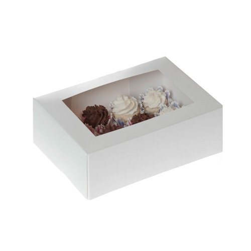 x, weiss (Mini-cupcake-box)