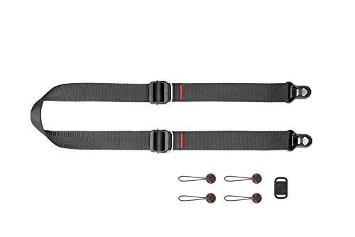 4-punkt-dual-link (Peak Design Slide Schultergurt für Kamerafoto, schwarz)