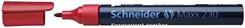 schneider-944905-marcador-permanente-con-punta-redonda-color-rojo