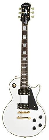 Epiphone ENCIAWGH3 Ed Les Paul Classic Custom PRO (GH) Guitare électrique, Alpine White