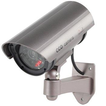 n Attrappe Dummy Kamera, 30imitierte LEDs mit blinkendem IR, professionelles Infrarot-Design, CCTV MWS (Today Deals)