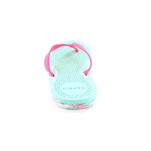 Esprit yko dots micro , w054 pink/türkis, Zehentrenner Pink/Türkis