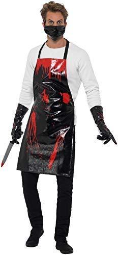 tcher Forensischer Serienkiller Horror Halloween TV-Kostüm, Kostüm ()