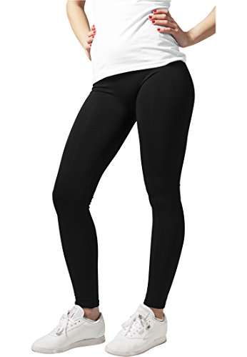 Ladies PA Leggings black M (Short Damen Star All)