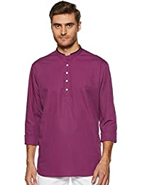 See Designs Men's Kurta (SD18SKT548XL_Purple_Medium)
