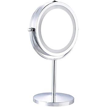 Make-up Rasierspiegel Schminkspiegel Wandspiegel Mit Led Beleuchtung Und 7x Zoom Produkte Werden Ohne EinschräNkungen Verkauft Badzubehör & -textilien