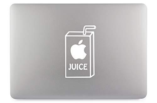 """Apple Juice Apfelsaft Aufkleber Skin Decal Sticker Vinyl geeignet für Apple MacBook Air Pro Notebooks Laptops Apple, Auto, Glatte Oberflächen (13\"""")"""