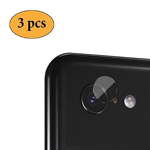 Newseego Google Pixel 3 Lens Protector【3 Pezzi】 Protezione in Vetro temperato Trasparente - Protezione ad Alta Definizione 2.5D per Google Pixel 3 - Trasparente