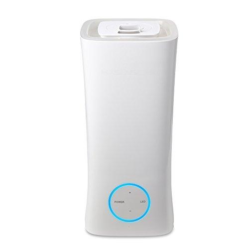 LWFB Humidificateur / Au-dessus Ajouter de l'eau / Mute / Contrôle tactile / Fonction d'aromathérapie / Veilleuse / Humidificateur réglable de volume de brouillard (150 * 150 * 320mm)