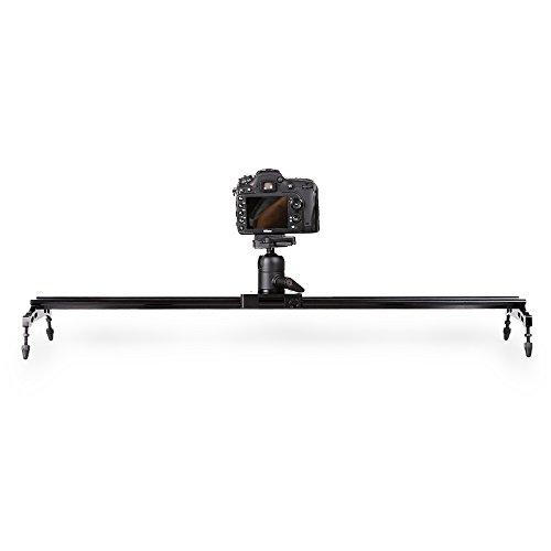 Slider-della-Fotocamera-32-80cm-Controllo-Scorrevole-Fotografica-In-Alluminio-DSLR-Dolly-Track-Rail-Dolly-Perfetto-per-Fotografia-e-Registrazione-Video-con-14-38-Vite-e-Fino-a-175-lbs8-kg-Capacit-di-C