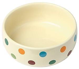 KERBL Gamelle en Céramique Dots pour Chiens 300 ml - Lot de 2