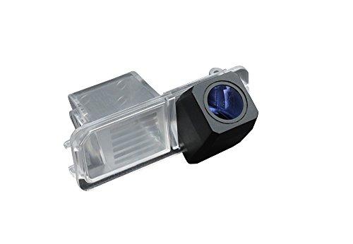 Dynavision Auto Rückfahrkamera Farbkamera Einparkkamera Nachtsicht und für Rückfahrsystem Einparkhilfe-Wasserdicht&Stoßfest für VW Phaeton Passat Skoda Golf 6 EOS Lupo Polo Seat Leon Amarok (Nr. 1 mit super Pro HD Kamera)