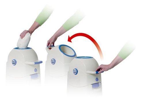 Geruchsdichter Windeleimer Diaper Champ Medium Blau F 252 R
