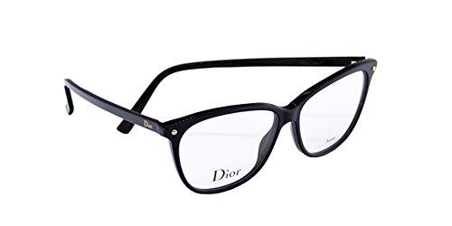 Dior Für Frau Cd3270 Black Kunststoffgestell Brillen, 53mm