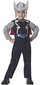 Avengers - Disfraz de Thor Deluxe para niños, infantil talla 1-2 años (Rubies 620017-T)