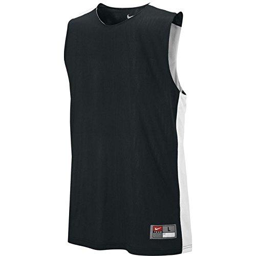 Nike Canotta canottiera da M League Rev Practice Multicolore - Tm Black/Tm White
