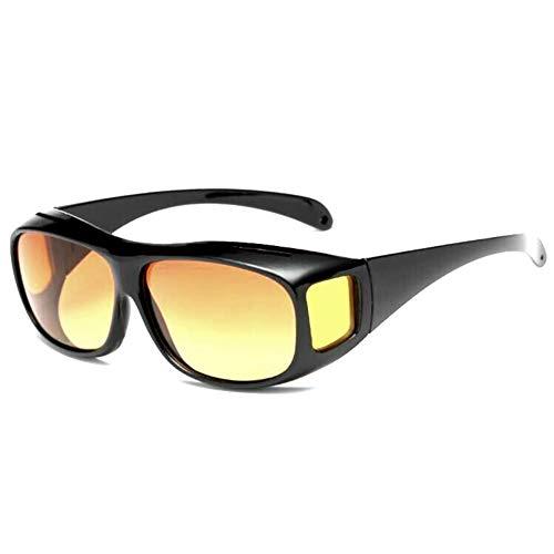 TYJYB New Radfahren Sport Herren Sonnenbrille Sand-Beweis Multifunktionsspiegel Nachtsichtbrille Fahrer Nacht Fahrspiegel (A01)