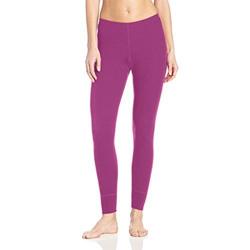 Minus33Merinowolle Damen Franken Mid-Weight, Unten, Damen, 803, Helles Violett, XL (Midweight Thermal Pant)