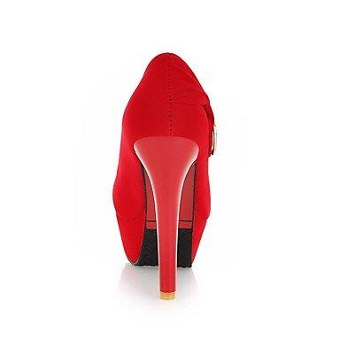 Moda Donna Sandali Sexy donna tacchi Primavera / Estate / Autunno / Inverno tacchi / Piattaforma / Matrimonio / Party & sera abito / Stiletto Heel Red