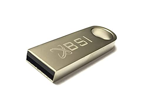 BSI 16GB USB Flash Drive 2.0 Ultra Portable Storage Device Compatible with Windows and Mac. Micro Vault Contains a System Management Area. OS Compatibility-Windows XP/2000 Professional/Home Edition; Mac OS 9 and Higher + with BSI(TM) LOGO