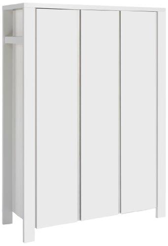 Schardt 06 648 52 02 - Milano weiß 3- türiger Kleiderschrank