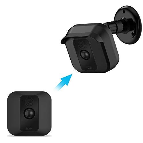Mascarry Blink XT Kamera-Wandhalterung, wetterfest, 360-Grad-verstellbar, Halterung und Abdeckung für Blink XT Heim-Sicherheits-Kamera-System, Anti-Sonneneinstrahlung, UV-Schutz., BLACK(1 PACK)