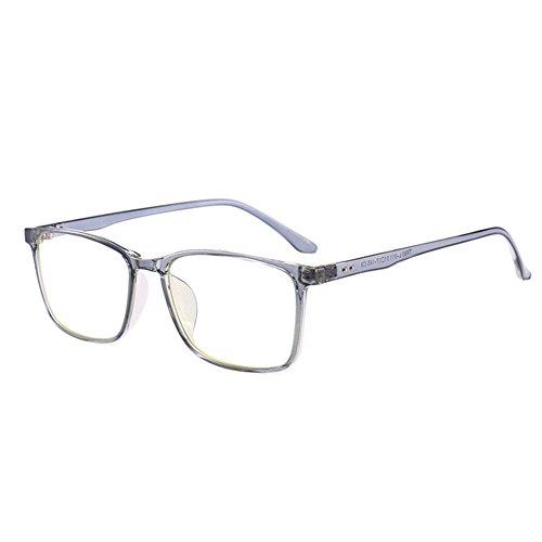 VEVESMUNDO Brillen Anti blaulicht Computer Ohne Sehstärke Hornbrille Nerdbrille Damen Herren Retro...