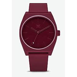 09798539da7d7 Adidas Reloj Analógico para Hombre de Cuarzo con Correa en Silicona  Z10-2902-00