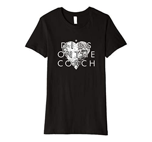 Damen Damen Niedlichen Dibs auf der Coach die Cool Mom T-Shirt Top