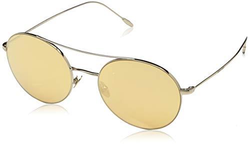 Armani Damen 0AR6050 30137T 54 Sonnenbrille, Pale Gold/Orangemirrorpink,