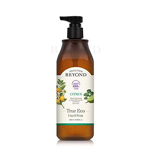 BEYOND TRUE ECO Liquid Soap 500ml (#CITRUS) - Grapefruit Bergamotte Hand Waschen