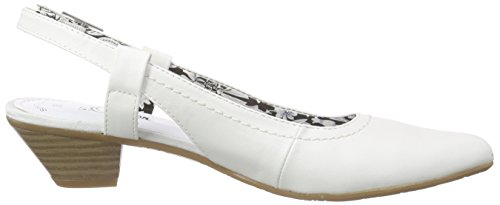 s.Oliver 29500, Escarpins femme Blanc - Blanc (100)