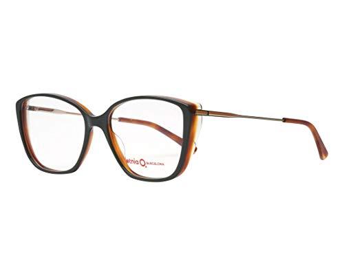 Etnia Barcelona Brille (SABI GRHV) Acetate Kunststoff - Metall glänzend olivgrün - glänzend gold